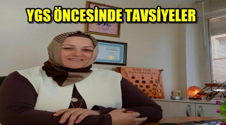 YGS ÖNCESİNDE TAVSİYELER !!!