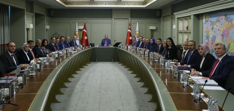 AK Partide MYK toplandı