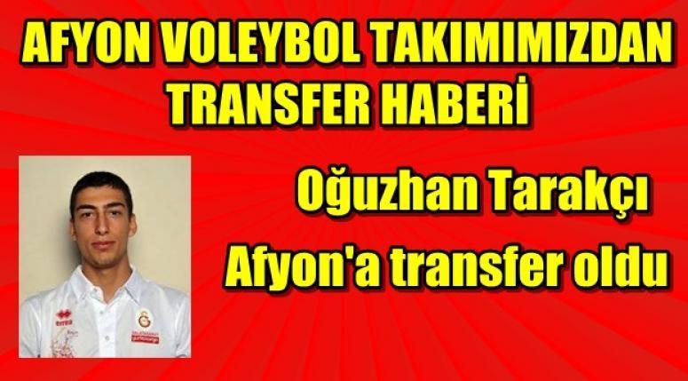 Oğuzhan Tarakçı Afyon Yüntaş'a transfer oldu