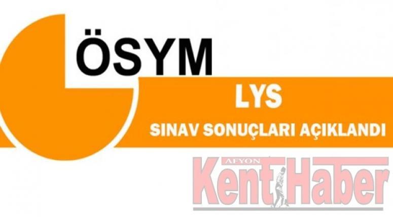 LYS SONUÇLARI AÇIKLANDI !!!