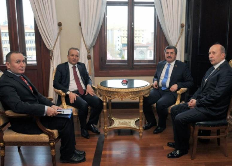 Milletvekili Ali Özkaya'dan Vali Hakan Yusuf Güner'e Ziyaret