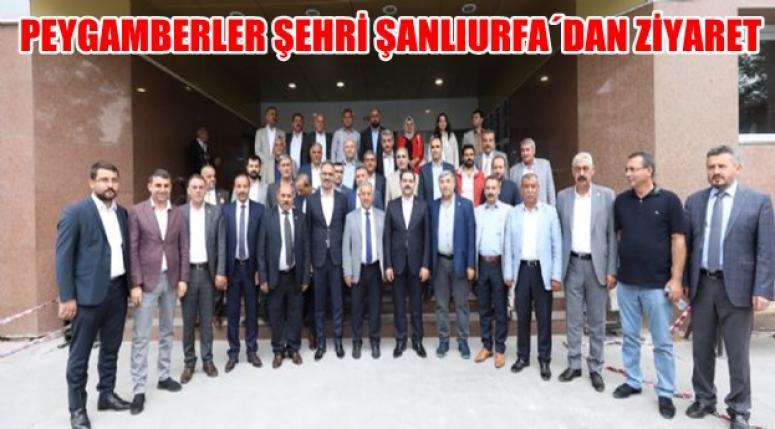 Mehmet Zeybek, Şanlıurfa'dan ilimize gelen konukları ağırladı