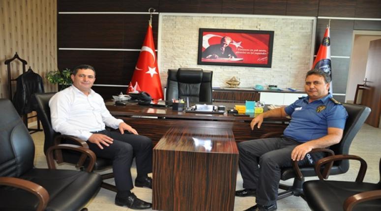 Çobanlar Belediye Başkanı Ali Altuntaş'tan nezaket ziyareti !!