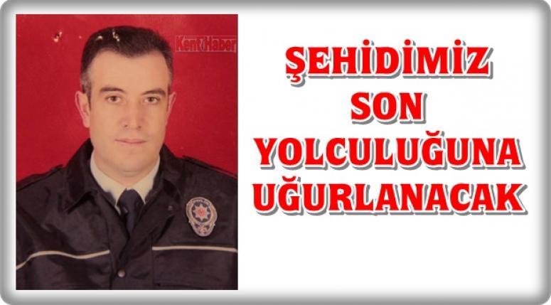 Afyon'lu Şehit Polis Memuru Yücel Başpınar bugün uğurlanacak !!