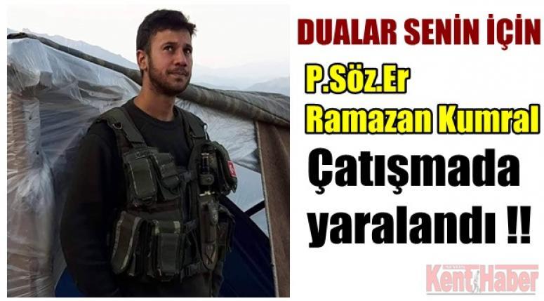 Bolvadin Haber - P.Söz. Er Ramazan Kumral çatışmada yaralandı !!
