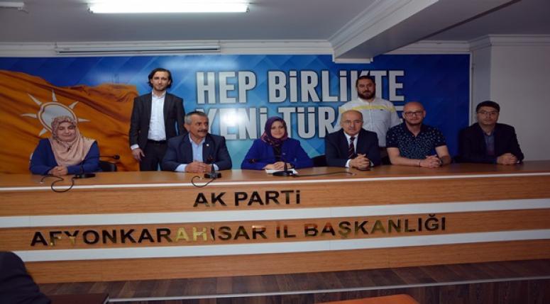 Ersoylu ve Kıpırtı'dan aday adaylığı açıklaması