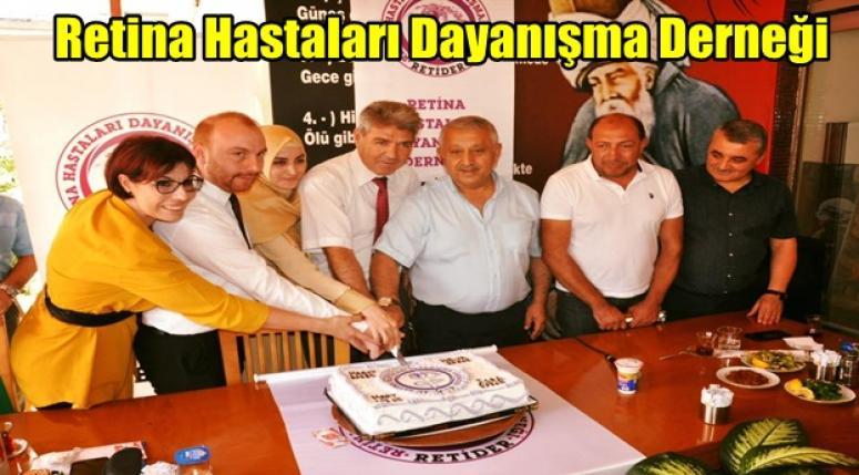 Afyon Haber - Zeybek ; Retina Hastaları Dayanışma Derneği'ne her zaman destek vereceğiz !!