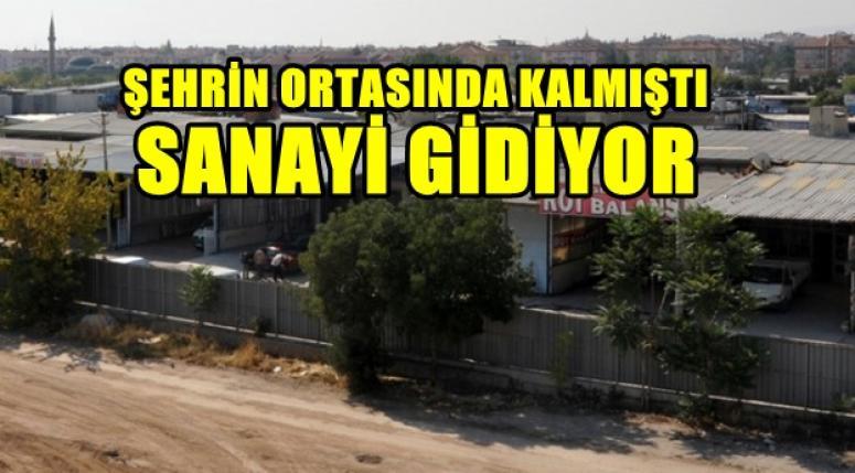 AFYON SANAYİ SİTESİ MAZİYE KARIŞIYOR