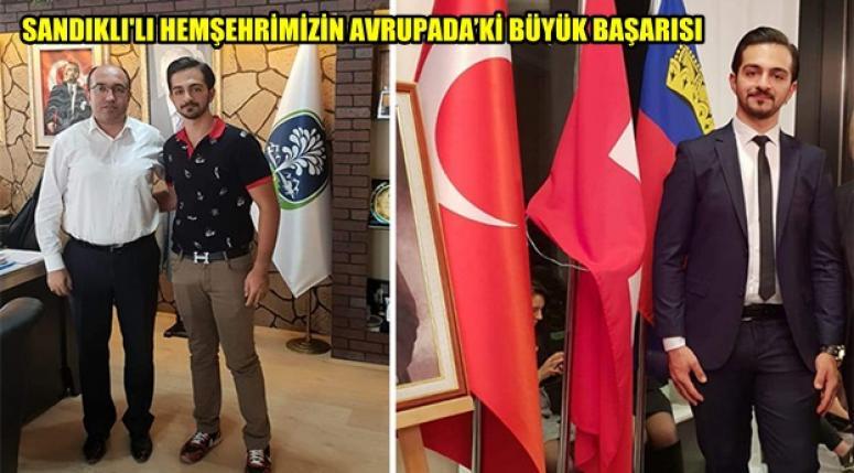Sandıklı'lı Yusuf Akpınar'ın Büyük Başarısı !!