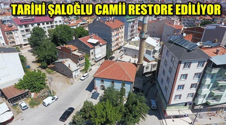 SANDIKLI'DA TARİHİ ŞALOĞLU CAMİİ RESTORE EDİLİYOR