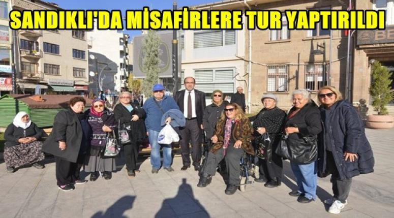 Sandıklı'da Misafirlere İlçe Turu yaptırıldı
