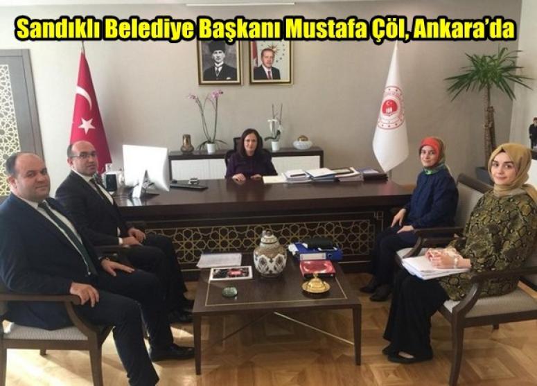 Sandıklı Belediye Başkanı Mustafa Çöl, Ankara'da