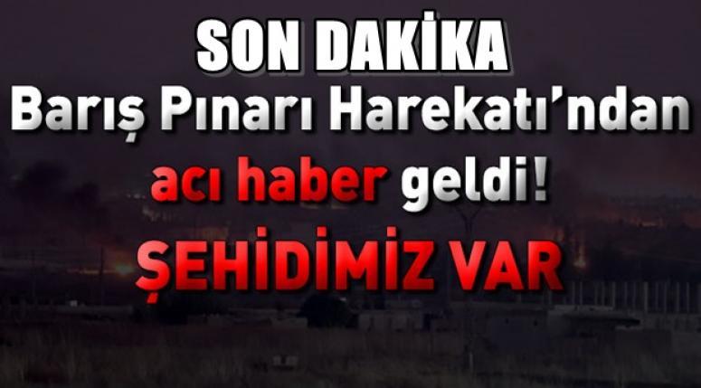 Barış Pınarı Harekatı'nda Ahmet Topçu şehit oldu !!