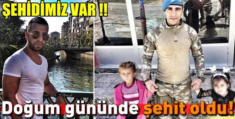 Piyade Uzman Çavuş Abdülhamit Bilgen Şehit oldu !!