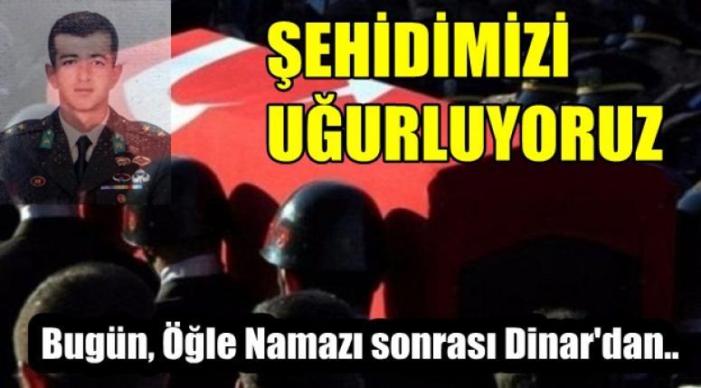 Şehit Süleyman Şahin bugün uğurlanacak !!
