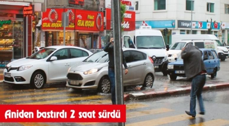 Aşırı yağmur, Afyon'da etkili oldu