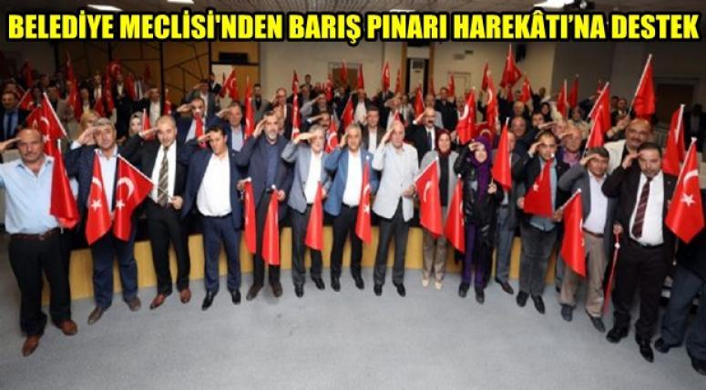 Afyon Belediye Meclisi, Ordumuza selam gönderdi !!