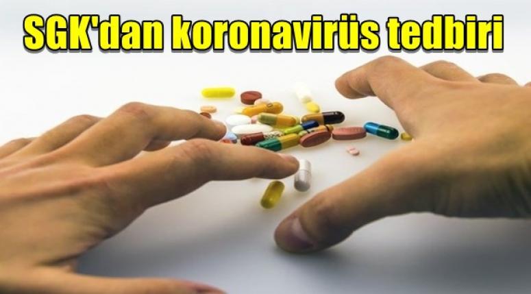 SGK'dan koronavirüs tedbiri