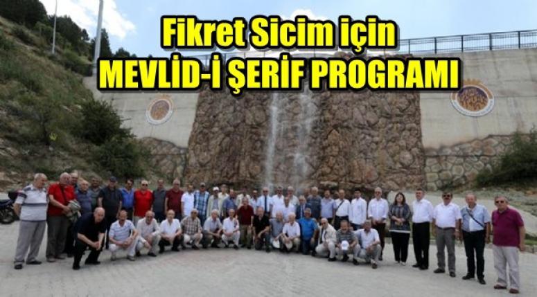 Fikret Sicim için MEVLİD-İ ŞERİF PROGRAMI