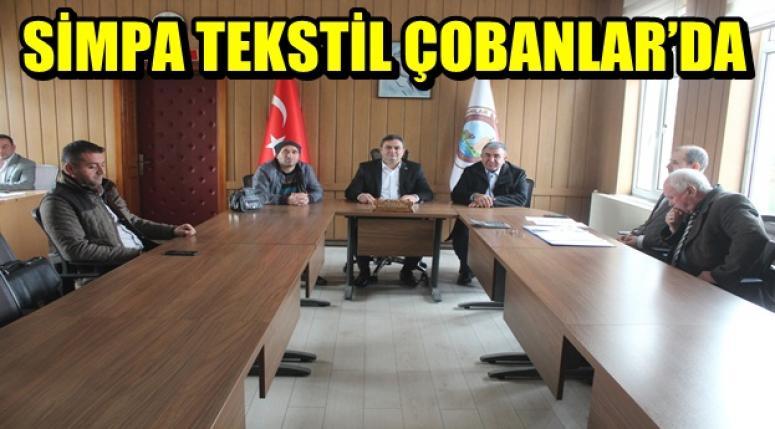 SİMPA TEKSTİL ÇOBANLAR'DA