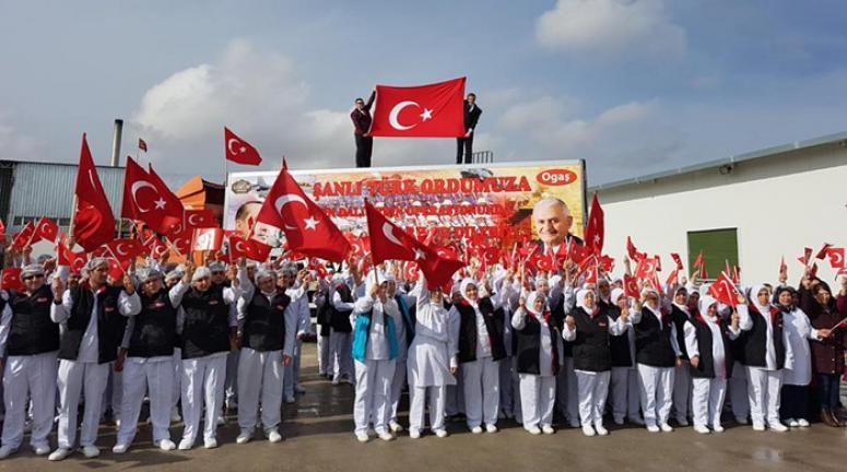 ASKERİMİZE AFYON'DAN LOKUM TIR'I