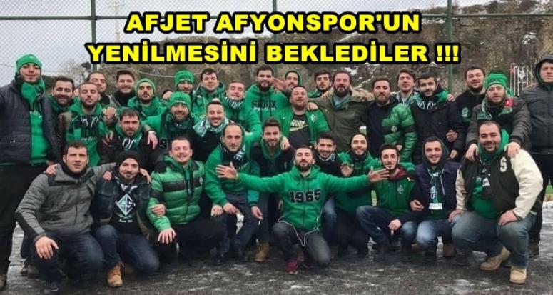 AFJET AFYONSPOR'UN YENİLMESİNİ BEKLEDİLER !!!