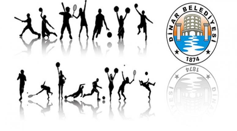 Dinar'da Kapalı Spor Salonu Kursları Başlıyor