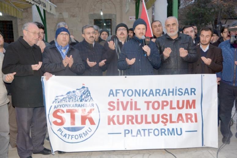 STK'lar Mehmetçik için dua etti