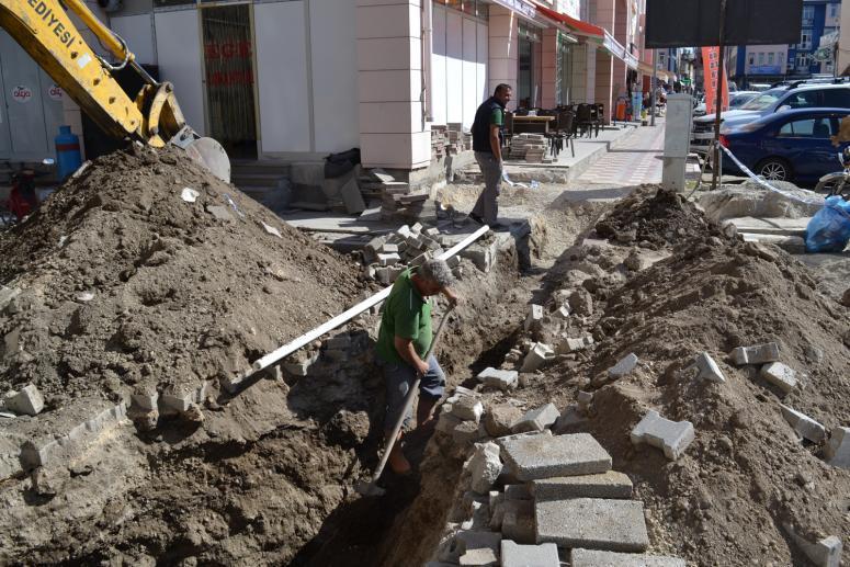Şuhut'ta İçme suyu çalışmaları sürüyor