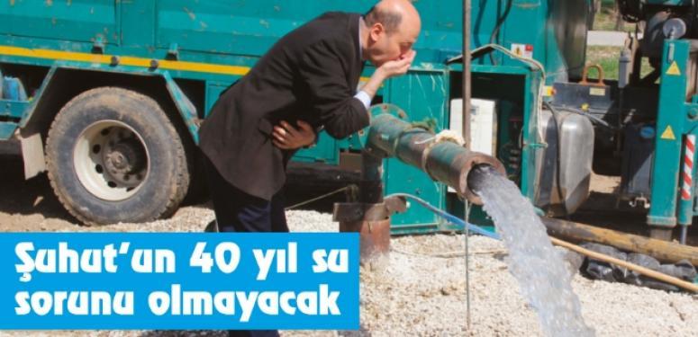Afyon'un Şuhut İlçesinde 40 yıl su sorunu olmayacak
