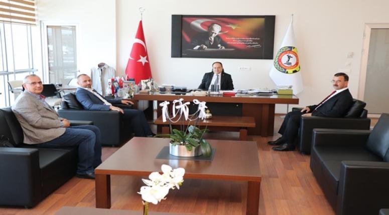 SULTANDAĞI BELEDİYE BAŞKANI ALDIRMAZ'DAN SERTESER'E ZİYARET