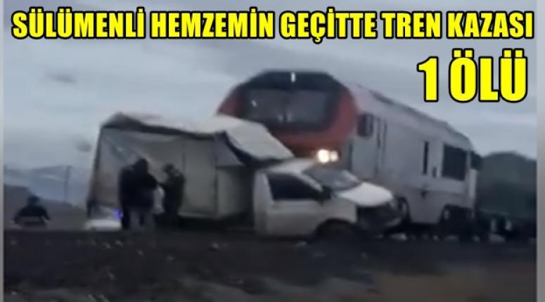 Sülümenli'de Hemzemin Geçitte yine kaza, 1 ölü ..