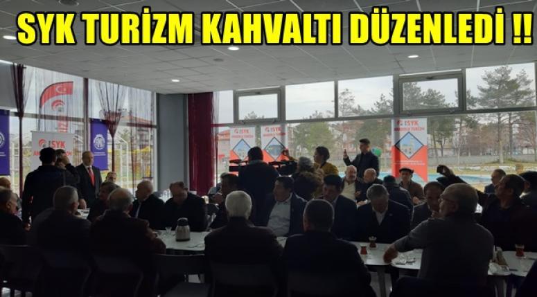 SYK TURİZM KAHVALTI DÜZENLEDİ !!