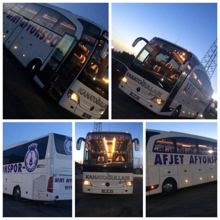 Afjet Afyonspor'un Takım Otobüsü Hazır !!!