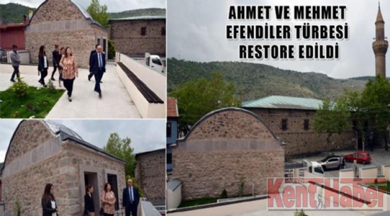 AFYON'DA TÜRBELER RESTORE EDİLİYOR !!!