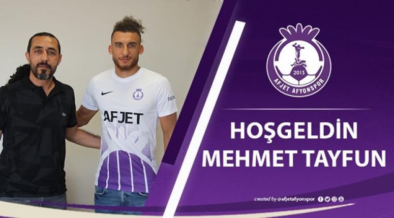 Mehmet Tayfun Dingil Afjet Afyonspor'da !!