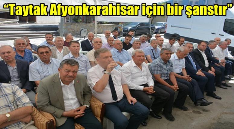 MHP bayramlaşma proğramı yapıldı !!