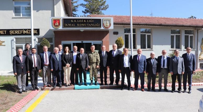 Tuğgeneral Osman Alp ziyaret edildi