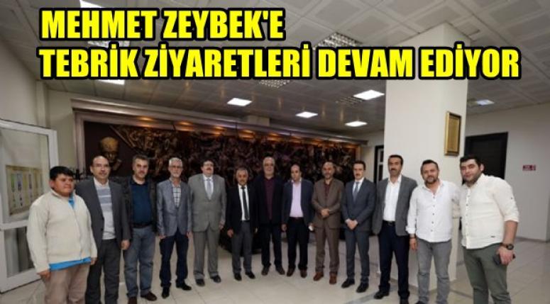 Mehmet Zeybek'e tebrik ziyaretleri devam ediyor