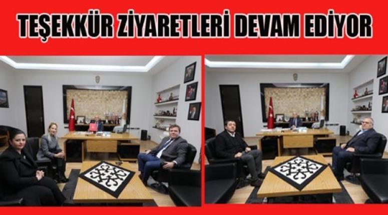 ÇOBAN'A TEŞEKKÜR ZİYARETLERİ DEVAM EDİYOR