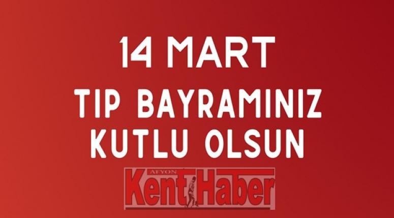 Afyon Kent Haber'den 14 Mart Tıp Bayramı Kutlaması !!