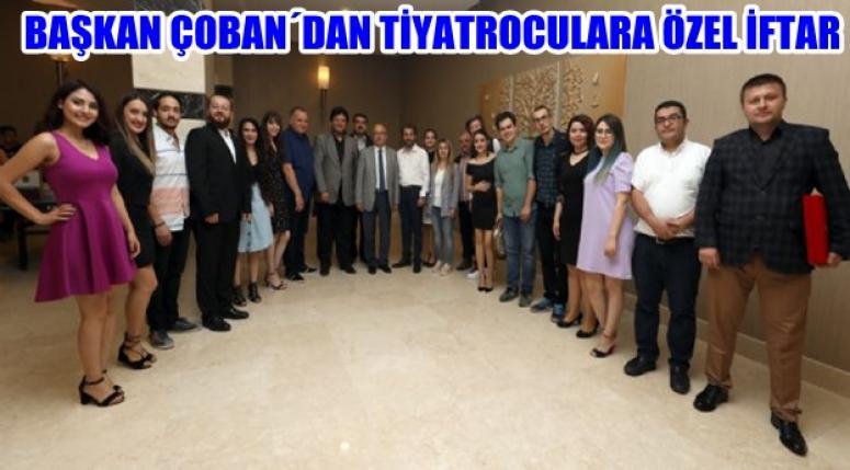AFYON TİYATRO EKİBİNE ÖZEL İFTAR