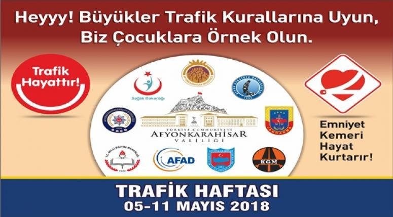 """Afyonkarahisar'da """"Karayolu Trafik Haftası Sergisi"""" açılacak"""