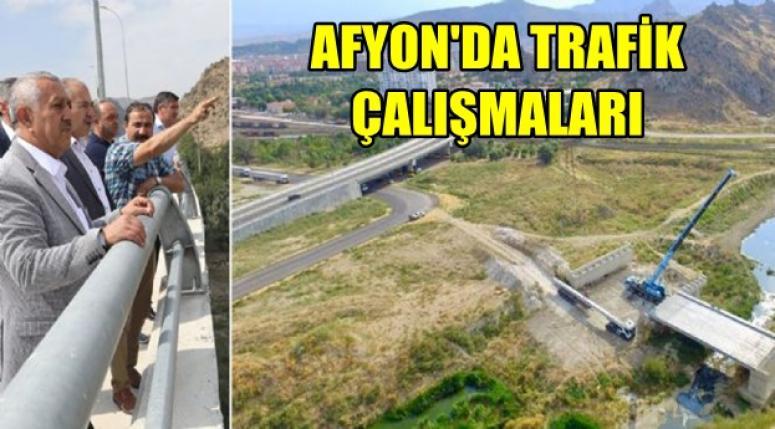 Afyon'da Trafik yoğunluğu azaltma çalışmaları !
