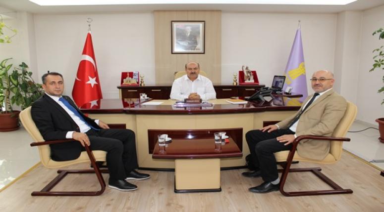 Konya Bölge Koordinatörü ESOB'u ziyaret etti.