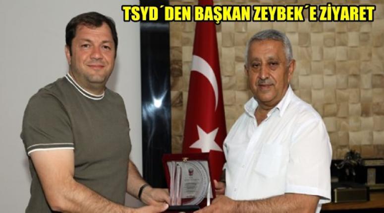 Afyon Tsyd'den, Mehmet Zeybek'e ziyaret !!
