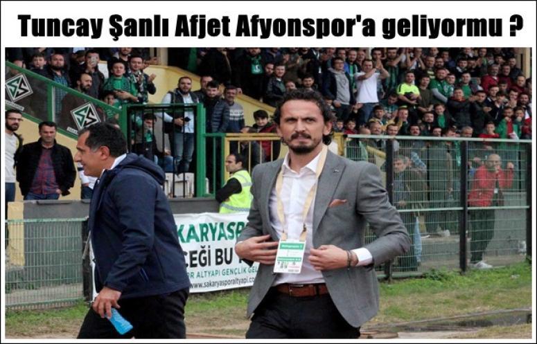 Tuncay Şanlı Afjet Afyonspor'a geliyormu ?