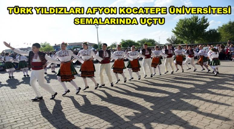 Afyon Kocatepe Üniversitesi semalarında harika gösteri !!
