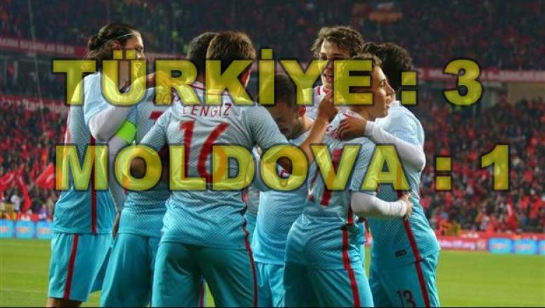 ESKİŞEHİR UĞURLU GELDİ !!! Türkiye : 3 - Moldova : 1