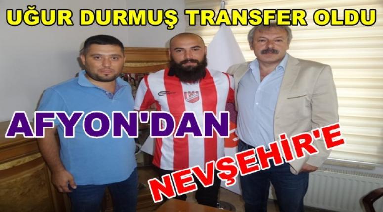 Uğur Durmuş Nevşehirspor'a transfer oldu !!!